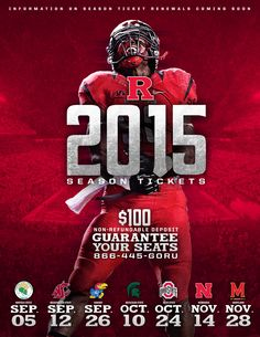 Renew your 2015 Rutgers Football Tickets!