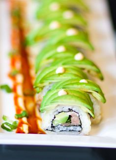 Making sushi at home can be so much fun! Try using a few different fillings and different seafood and make your own roll recipes! I have several video recipes with step-by-step instructions to guide you along the way. And don't forget to save the recipe for later on Pinterest!
