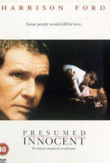 Harrison Ford is framed for murder in Presumed Innocent