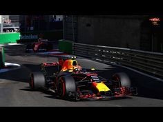 F1 Baku 25th of June 2017. After a crazy race Ricciardo crosses the line winning the race.
