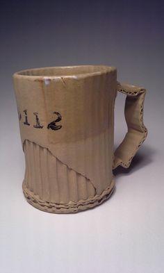 Ceramic Artist Tim Kowalczyk Can Make Clay Look Like Cardboard