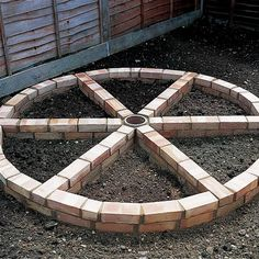 Picture result for brick wheel herb garden # picture result # brick wheel herb garden Brick Garden, Garden Arbor, Garden Boxes, Potager Garden, Garden Pests, Herb Garden Design, Vegetable Garden Design, Raised Vegetable Gardens, Raised Garden Beds