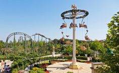 Approximately 15 km from Eisenstadt the Familypark is located in the village of St. What started almost 50 years ago as small fairytale forest is today Austria's biggest leisure park. 50 Years Ago, Cn Tower, Wind Chimes, Austria, Trip Advisor, Fairy Tales, Beste Mama, Places, Outdoor Decor