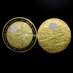 United States Army Sniper collectable 1oz 24k gold plated coins