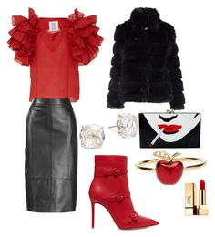 Designer Clothes, Shoes & Bags for Women Alison Lou, Charlotte Olympia, Yves Saint Laurent, Kate Spade, Shoe Bag, Polyvore, Stuff To Buy, Shopping, Collection