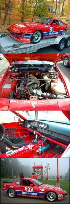 ...1986 Porsche 944 Cup Factory Race Car