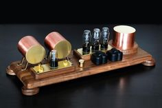 TUBE AMPLIFIER - Vintage components - Retro design - Hi End sound  https://www.pinterest.com/0bvuc9ca1gm03at/