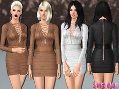 sims2fanbg's 446 - Designer dress