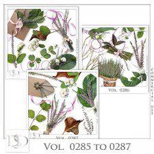 Vol. 0285 to 0287 Nature Mix by D's Design  #CUdigitals cudigitals.comcu commercialdigitalscrapscrapbookgraphics #digiscrap