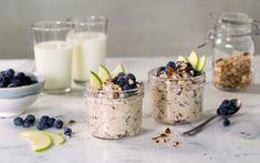 Bircher-grøt er en kjøleskapsgrøt laget med müsli med havregryn, og er en perfekt frokost. Grøten ble visstnok anbefalt av en lege i Sveits på begynnelsen a...