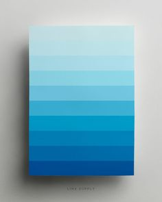 17 Wonderfully-Designed Products That All Minimalists Will Love Flat Color Palette, Colour Pallette, Color Palate, Colour Schemes, Color Patterns, Colour Gradient, Blue Poster, Color Psychology, Color Studies
