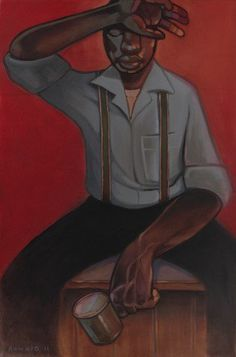 Jackson, Ronald (One More Hour) Black Art Painting, Black Artwork, African American Art, American Artists, Define Art, New Words, New Artists, Artist Art, Art World
