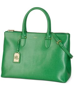 Lauren Ralph Lauren Newbury Double Zip Satchel Clearance Handbags, Ralph  Lauren Style, Green Fashion 1b42cfbec8