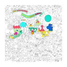 Coloriage Géant - JEFF KOONS