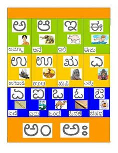 10 best Our Kids Learning Kannada images on Pinterest | Baby ...