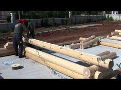 fin ahşap küütk ev montajı-4 - YouTube