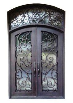 UNLIMITED IRON DOORS- 62 x 81+15.96.in Copper Prehung  Inswing Manifacturd price #unlimitedirondoor