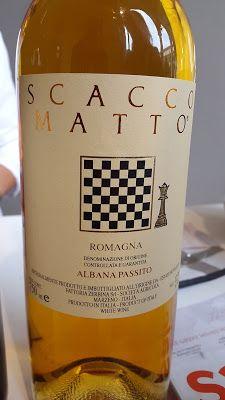 Baccanera, Viaggio nel mondo del vino: Fattoria Zerbia: il passito Scaccomatto e l'Albana...
