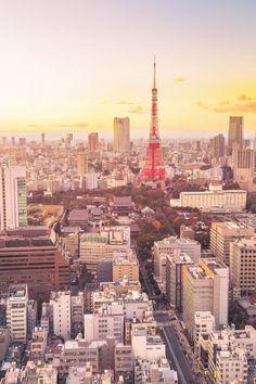 Tokyo, Japan, here we come (via @mydomaine)