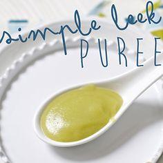 Simple Leek Puree