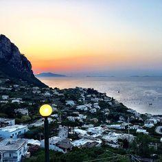 """""""People don't take trips, trips take people."""" ~Steinbeck #capri"""