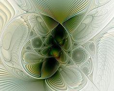 """Nested"" fractal art by Amanda Moore"