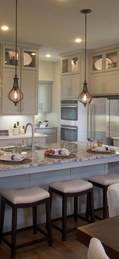 Prepare #culinary delights in this beautiful #gourmet #kitchen...