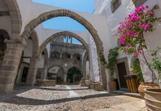 On Holy Friday, the representation of the Deposition is performed at the monastery of St. John the Theologian. During the same evening, all epitaphs from the island's churches follow a mournful march through the streets of Patmos and meet in the large squares of Chora and Skala.