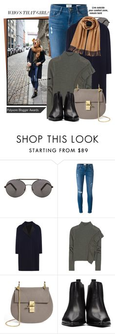 """""""Blogger style"""" by jan31 ❤ liked on Polyvore featuring Seafolly, Frame Denim, Roland Mouret, Each X Other, Chloé, Acne Studios and Ralph Lauren Blue Label"""