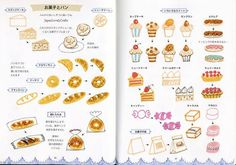 Fiber Tipped Pen Illustrations Japanese by JapanLovelyCrafts