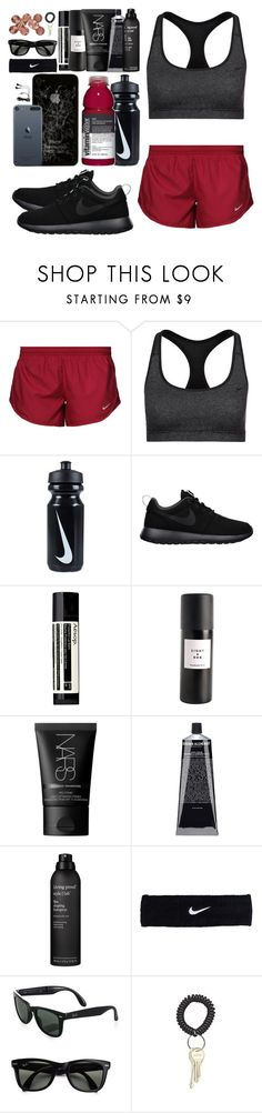 """""""*470"""" by asoc10 ❤ liked on Polyvore featuring NIKE, Aesop, Eight & Bob, NARS Cosmetics, Grown Alchemist, Living Proof and Ray-Ban"""