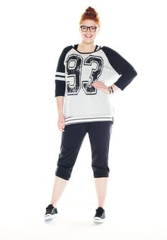 Stripe sleeve plus size pullover - maurices.com