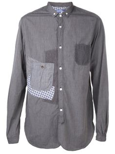 Men - All - Junya Watanabe Comme Des Garçons Convertible Collar Shirt - TRAFFIC LA