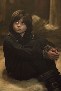Oliver Bell as Young Killian Jones