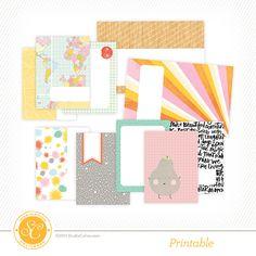 Brighton Pier Free Printable Journal Cards at @studio_calico