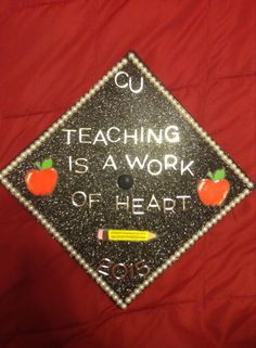 Campbell University - Graduation Cap - Elementary Education- decorated graduation caps - teacher graduation caps