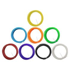 3D Printer Pen Filament 1.75mm ABS 10M/27G Plastic Rubber Consumables Material 3D pen filament