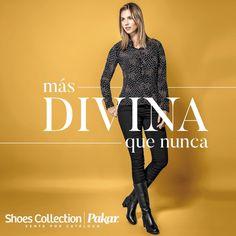 Más #divina que nunca #calzado #pakar #shoes #loveshoes #ventaporcatalogo #calzadoporcatalogo #shoescollectionpakar #mexico #womensfashion #womenshoes #shoeslovers #shoeslove #fw1617 #moda #fashion #fashionstyle #style #estilo #modamexicana #modamujer #lovefashion #fashionpost #fw16 #fashionista #loveheels #musthaveit #cualfrioionar