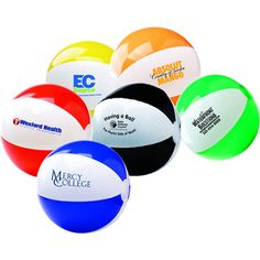 "Two Tone Beach Ball (12"") 