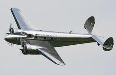 Lockheed 12-A Electra Junior aircraft : : c. 1936