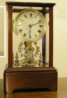 Eureka battery powered 1000 day clock c1910  -  Horologix
