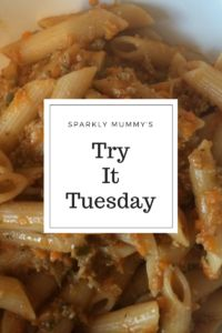 Try it Tuesday – pregnant Jools's pasta  Sparkly Becky #foodiefriday