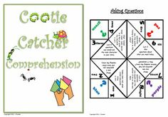 All the rage in my room right now...  Kids love these things - use for learning!!  This one is for comprehension. Students can use these for independent reading.