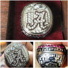 FatManWriting: Want to See Alabama's National Championship Ring?