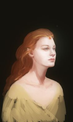 "Nerdanel was in many ways the perfect wife for Fëanor. Strong, independent, and creative, it is said in The Silmarillion that she could restrain the worst of his temper. Alone of all of the Noldor, Fëanor sought her counsel. But where Fëanor desired control and mastery over others, Nerdanel sought understanding, and she had greater patience and restraint. Perhaps for this reason, she is given the epithet ""the Wise."""