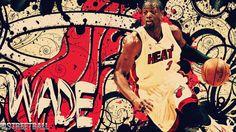 Dwyane Wade Grundge HD Miami Heat 2012 basketball wallpaper.  Re-pin if you think the Miami Heat will win the 2012 NBA Championship.