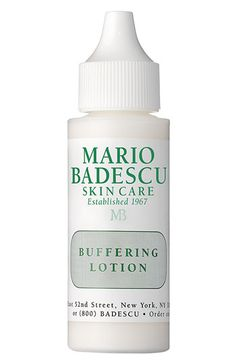 Mario Badescu Buffering Lotion for cystic acne ===== #testing