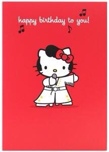 Happy Birthday Happy Birthday Photos, Happy Birthday Cards, Birthday Wishes, Hello Kitty Pictures, Japanese Gifts, Cute Characters, Fictional Characters, First Love, Snoopy
