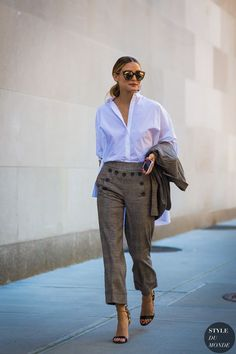 New York SS 2017 Street Style: Olivia Palermo