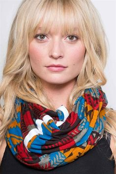 Mojave Infiniti Scarf - multi from Made in USA for Women at :: convert style :: women's, men's and kids socially conscious apparel, accessories & shoes